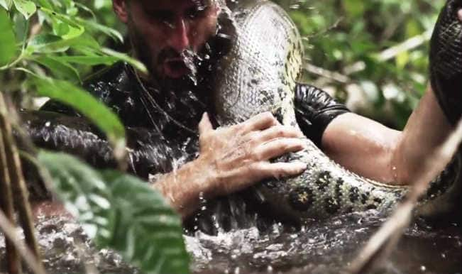 Paul Rosolie Eaten Alive by Anaconda: Watch Video of Man Eaten by Giant Snake on Discovery Channel
