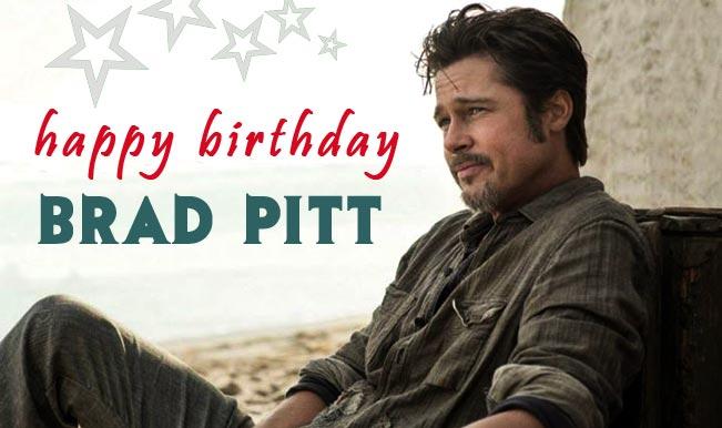 Brad Pitt Birthday Top 5 Best Movies Of The Talented