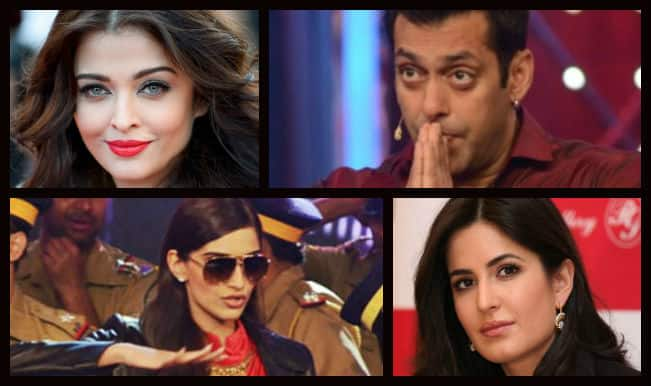 When Salman Khan remembered his ex-girlfriends Katrina Kaif & Aishwarya Rai, all thanks to Sonam Kapoor!