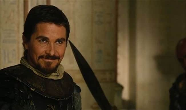 Christian Bale's Exodus: Gods and Kings banned in Egypt! - India.com Christian Bale