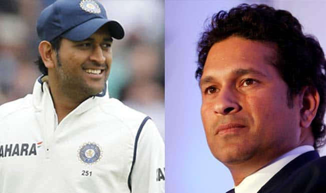 Sachin Tendulkar congratulates MS Dhoni on 'wonderful' Test Career, urges to focus on World Cup 2015 post retirement