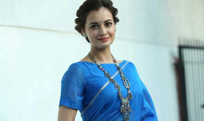 Dia Mirza supports NGO to make rural cool