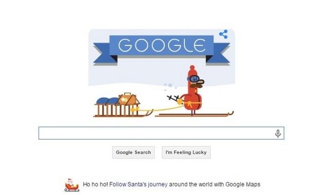 'Tis the Season! Second Christmas Google Doodle celebrates Christmas Eve