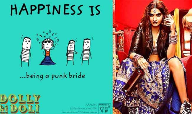 Sonam Kapoor: The Punk Bride of Dolly Ki Doli features on Facebook's The Happy Page!