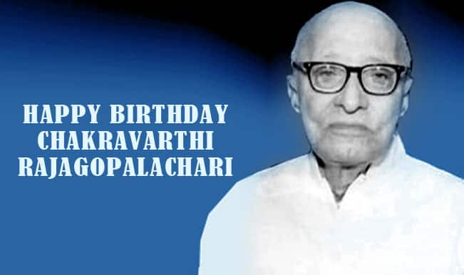 C. Rajagopalachari birth anniversary: Top 4 contributions by Governor-General of India
