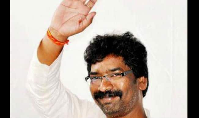 Jharkhand State Assembly Election Results 2014 Live News Update: Chief Minister Hemant Soren is leading by 94 votes
