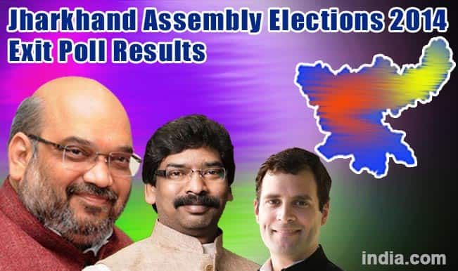 Jharkhand Assembly Election 2014 Exit Polls Results: BJP likely to form government on its own