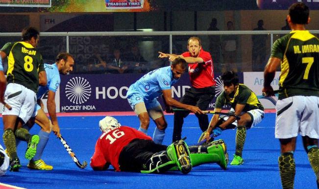 देखिये चैंपियंस ट्रॉफी हॉकी में भारत और पाकिस्तान के बीच खेले गए मुकाबले की कुछ ख़ास तस्वीरें
