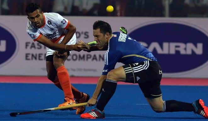 Hockey Champions Trophy 2014 Pool B Result: India squander lead twice to fall 2-4 to Argentina