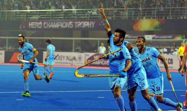 Hockey Champions Trophy 2014 Pool B Result: India register historic win over Netherlands