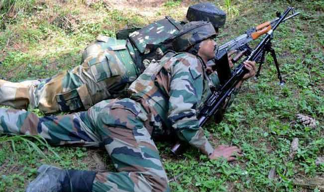 कश्मीर मुठभेड़ में 6 आतंकवादी ढेर