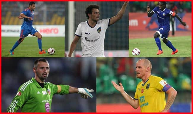 ISL 2014 Best XI: List of top foreign players in Indian Football League