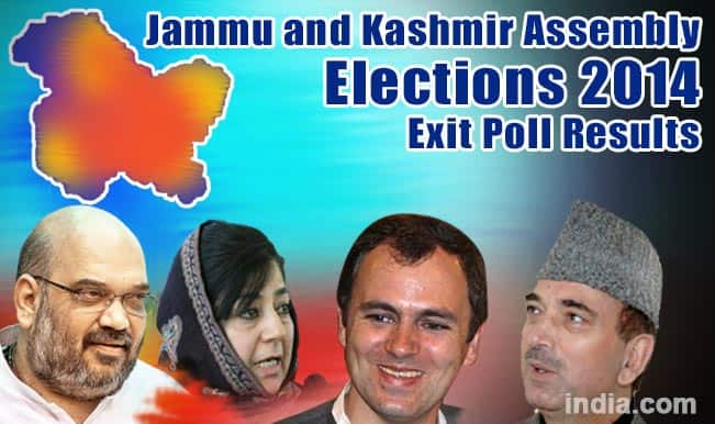 Jammu and Kashmir Assembly Elections 2014 Exit Poll Results: Axis APM predicts PDP falling short of majority