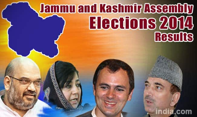 Jammu and Kashmir State Assembly Election Results 2014 Live News Update: PDP wins 28 seats, BJP 25, NC 15, Congress 12