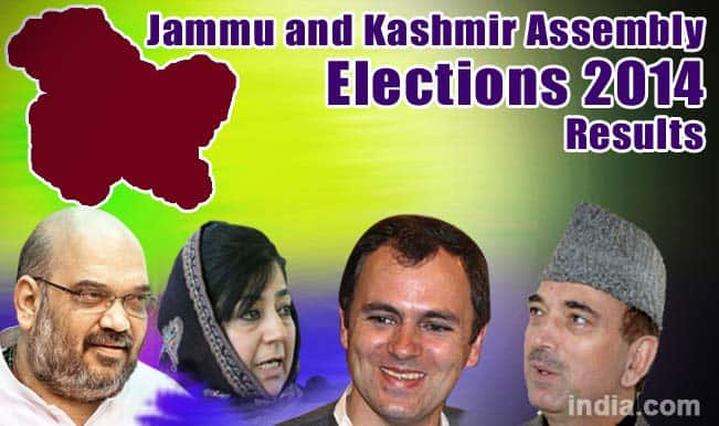 Jammu and Kashmir State Assembly Election Results 2014 Live News Update: PDP Gains Early Lead, National Conference Losing Fort