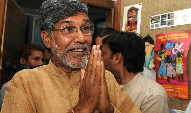 Kailash Satyarthi appeals to terrorist groups to spare children