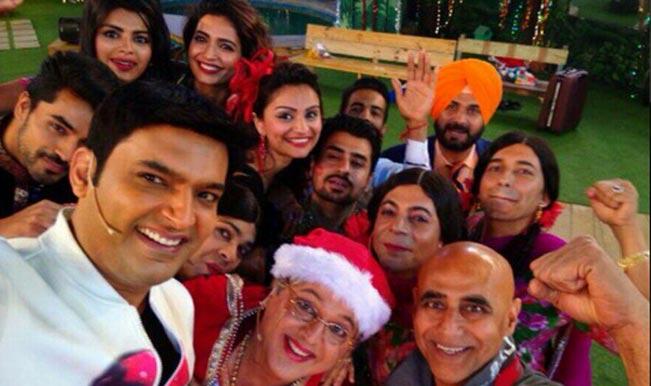 Bigg Boss 8: Kapil Sharma replaces Salman Khan; takes a selfie with the inmates!