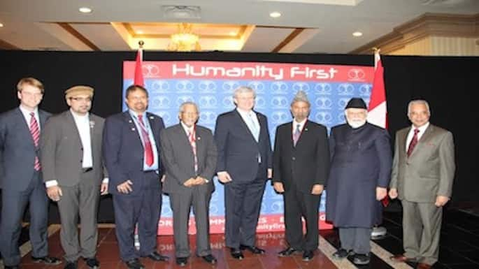 Harper Attends Humanity First Fundraiser to Fight Ebola