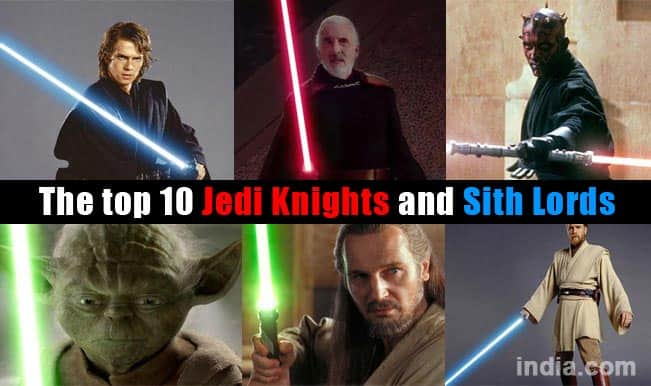 Star Wars Episode VII: The Force Awakens; Top 10 characters who use lightsabers