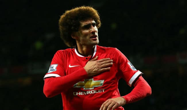 Manchester United's heartbeat — Marouane Fellaini, who would have thought?
