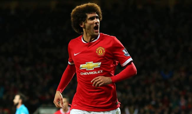 Manchester United lose Marouane Fellaini for festive period