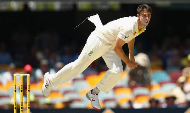 India vs Australia 2nd Test: Mitchell Marsh leaves field due to hamstring injury