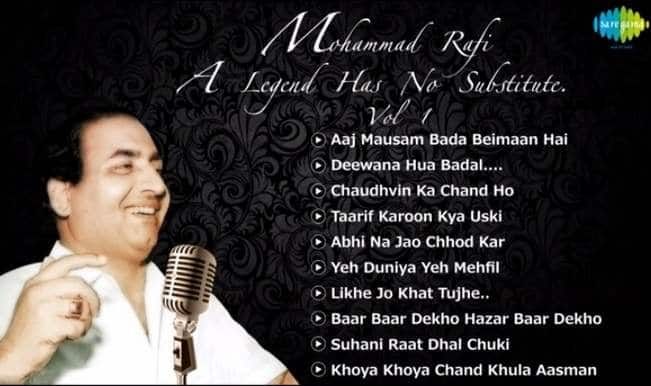 Mohammed Rafi birthday special: Top 10 songs jukebox of India's favourite playback singer