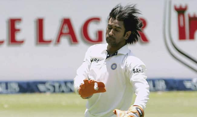 MS Dhoni's Test career in pictures