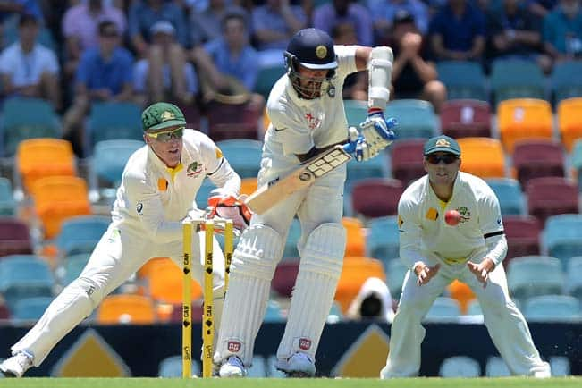 Murali Vijay's solid start takes India to 89/1 at Lunch against Australia on Day 1 – 2nd Test at Brisbane
