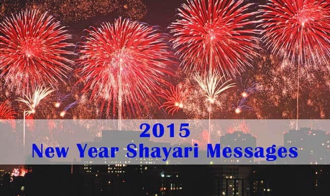 New Year Messages Wish Friends Happy New Year 2015 With Shayari In