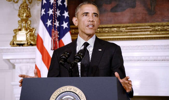 Barack Obama pays homage to Nelson Mandela on this first death anniversary