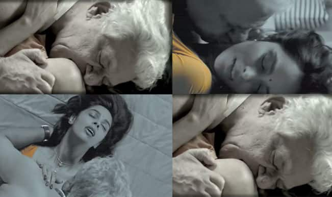 Dirty Politics trailer: Why is Om Puri licking Mallika Sherawat?