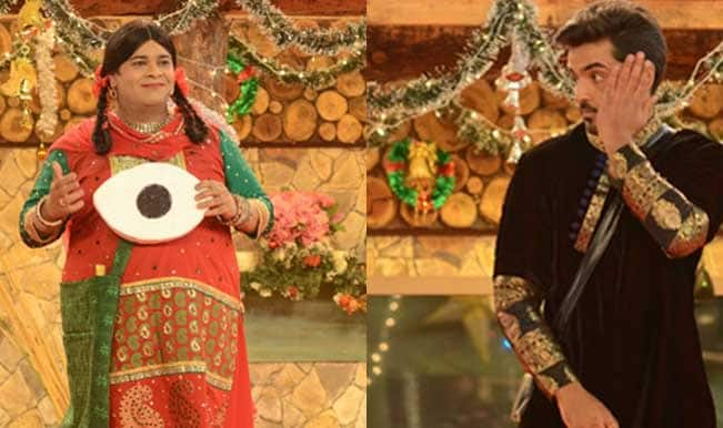 Watch Free Live Streaming & Telecast of Bigg Boss 8 Day 97: Kapil Sharma and cast of Comedy Nights With Kapil entice house mates