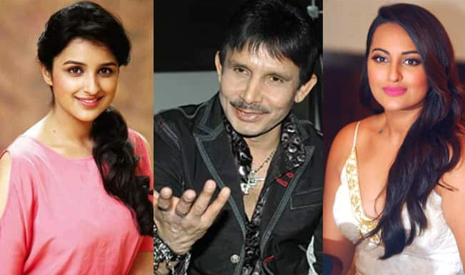 Kamaal R Khan strikes again: KRK calls Parineeti Chopra and Sonakshi Sinha beautiful Sumo wrestlers!