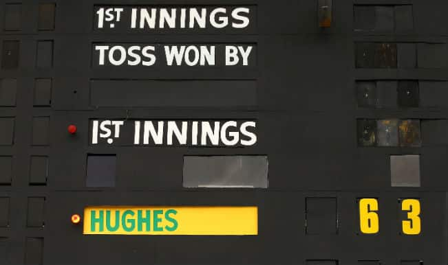 Shaun McArthur sacrifices personal record to keep '63 not out' legacy going for Phillip Hughes!