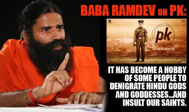 PK controversy: Baba Ramdev to socially boycott Aamir Khan's latest movie