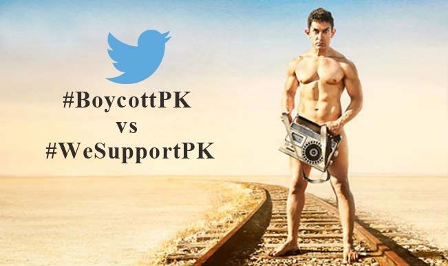 #BoycottPK vs #WeSupportPK: Twitterati fight over Aamir Khan's movie PK