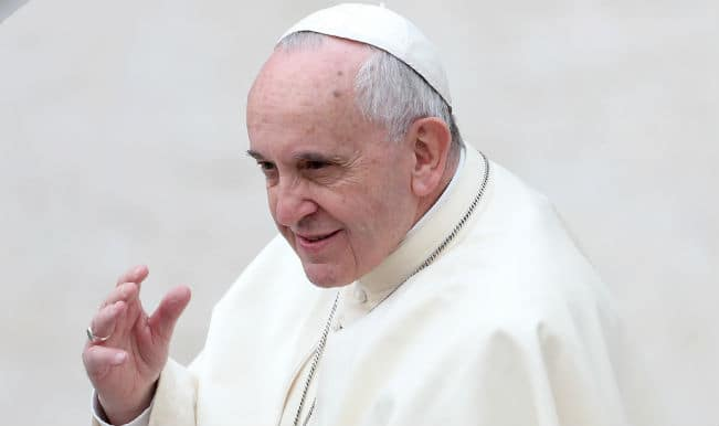 Pope Francis Gets Cake Tango And Chicken For Birthday World News