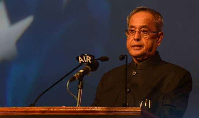 President Pranab Mukherjee says, 'Abide by Constitution, ministers will come and go!'