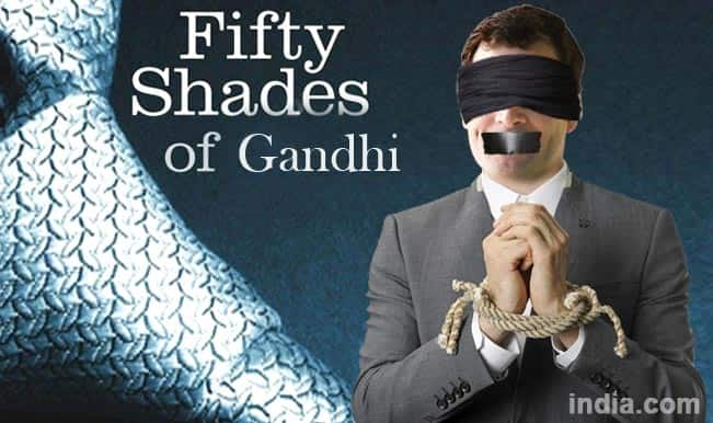 Rahul Gandhi to be part of Fifty Shades of Grey!