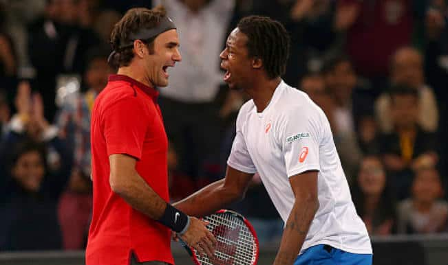 Watch Roger Federer dance in this hilarious video with Gael Monfils at IPTL!