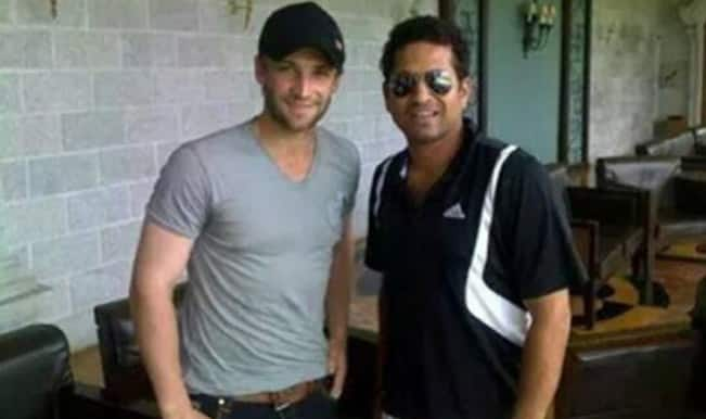 Sachin Tendulkar bids farewell to Mumbai Indians team-mate Phillip Hughes, tweets 'Will miss you Phil'