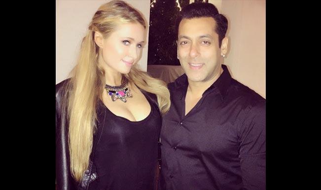 पेरिस हिल्टन ने सलमान खान के साथ की पार्टी