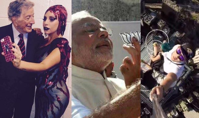 Top 10 Selfies of 2014: Oscar Selfie, Narendra Modi Selfie, Queen Elizabeth Selfie, Scariest Selfie and many more