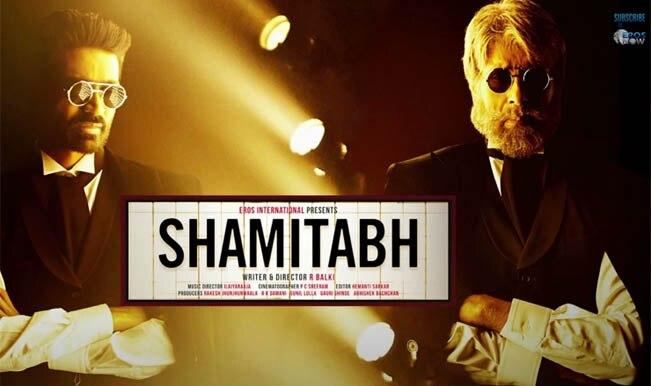 Shamitabh Audio Trailer: Amitabh Bachchan gets drunk on whiskey