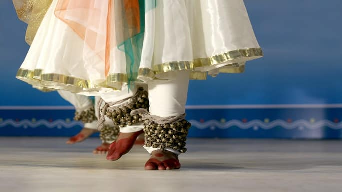 'Dancing Petals' Kathak Recital Makes Splash