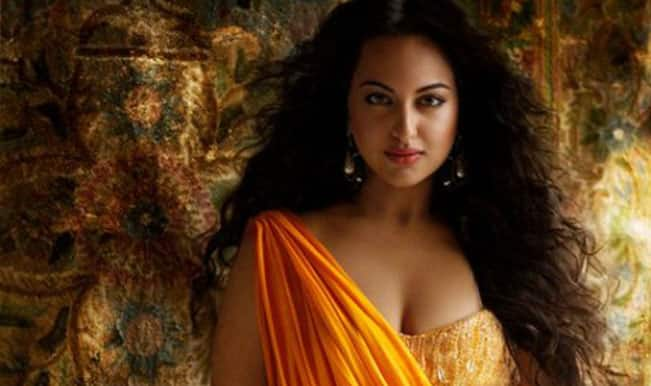 Sonakshi Sinha likes to style herself