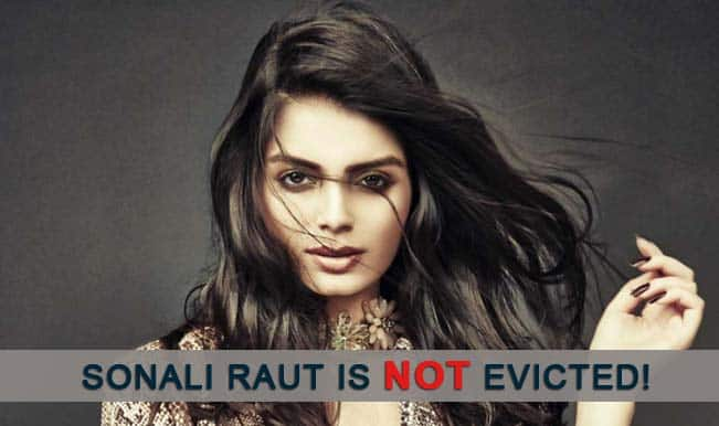 Bigg Boss 8: Salman Khan saves Sonali Raut from eviction; the hot actress will stay in the house!