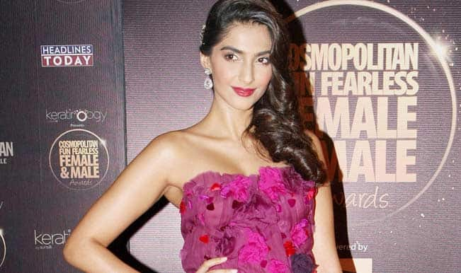 Sonam Kapoor: Women generally not safe in Delhi