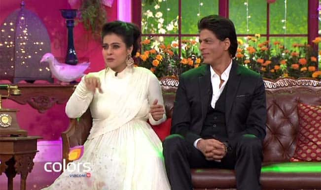 Shah Rukh Khan and Kajol along with DDLJ cast celebrate 1000 weeks of the film on Comedy Nights With Kapil – Part 2